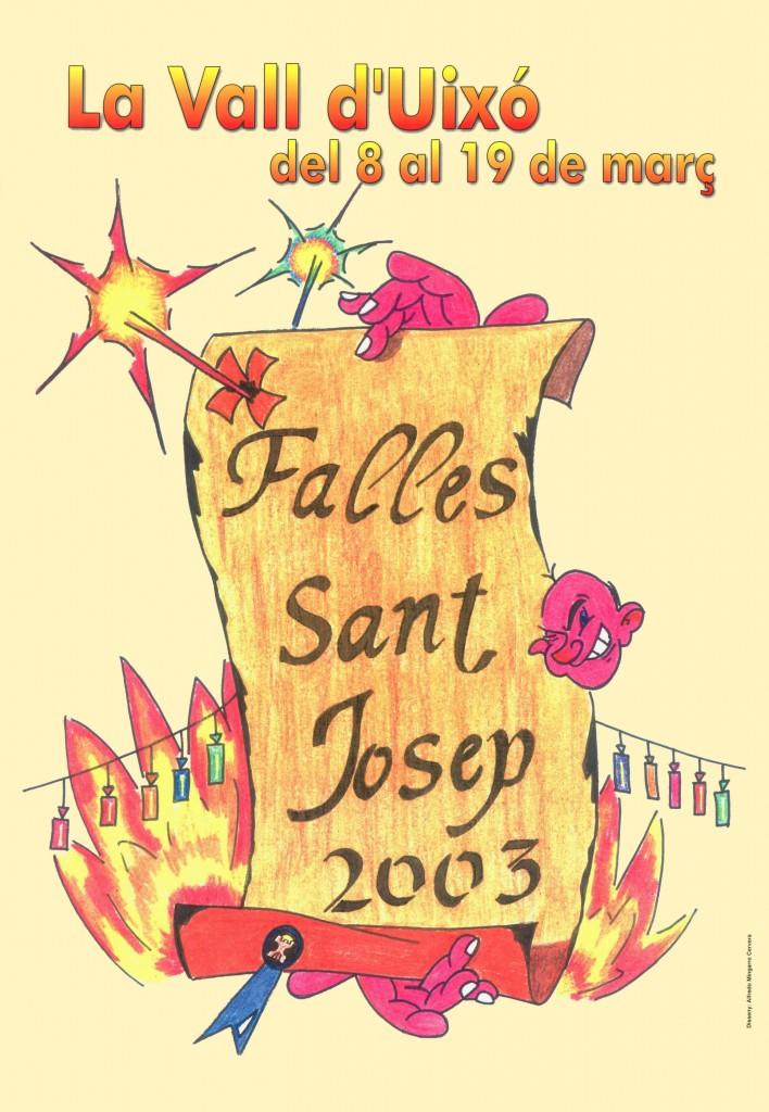 Falles de Sant Josep 2003